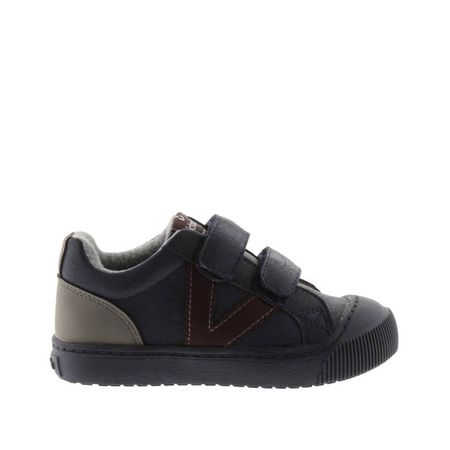 Sneakers met klittenband Huellas Tiras Piel Vegan