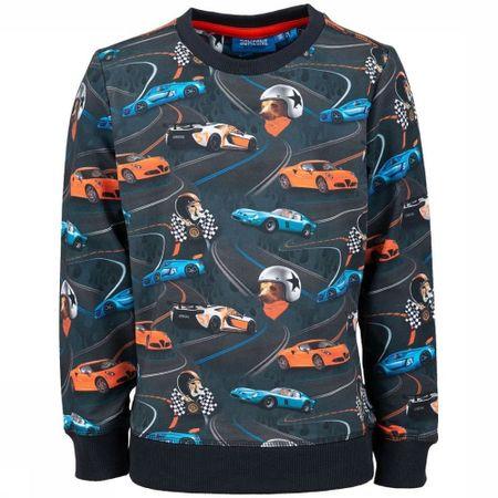 Someone Trui Racer-sb-16-c voor jongens - Grijs - Maat: 116 - Solden