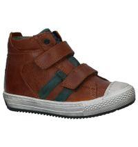 Stones and Bones Cognac Boots met Velcro Ovest Dry