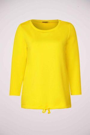 Street one, T-shirt, geel, Dames, Maat: onesize