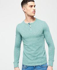 Superdry Bootlegger Grandad shirt met lange mouwen