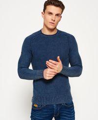 Superdry Garment Dyed L.a. trui met textuur
