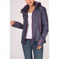 Superdry Jas Tech Velocity Sd-windcheater voor dames - Blauw, Roze