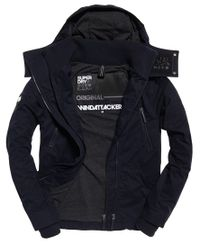 Superdry Microfibre Hooded SD-Wind Attacker