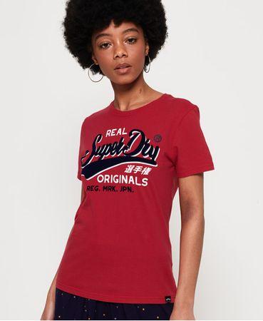 Superdry Real Originals Flock T-shirt