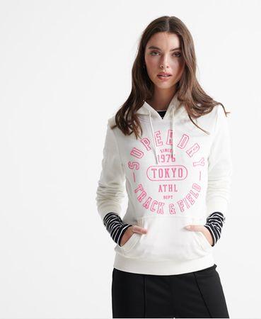 Superdry Track & Field Loopback hoodie