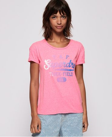 Superdry Track & Field Slim Boyfriend T-shirt