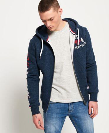 Superdry Trackster hoodie met rits