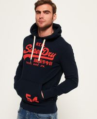Superdry Vintage Logo lichtgewicht hoodie