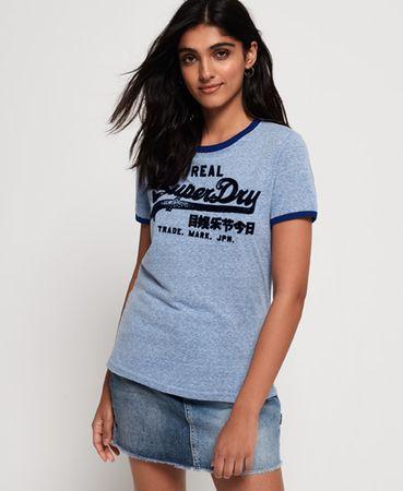 Superdry Vintage Logo Retro Ringer T-shirt