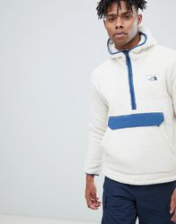 The North Face Campshire Pullover Hoodie in White - White