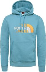 The North Face Drew Peak Pullover Hoodie Trui Heren - Storm Blue