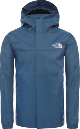 The North Face Resolve Reflective Jas Kinderen - Blue Wing Teal - Maat S