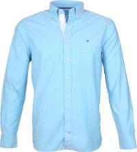 Tommy Hilfiger Blauw Oxford Overhemd
