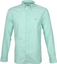 Tommy Hilfiger Groen Oxford Overhemd