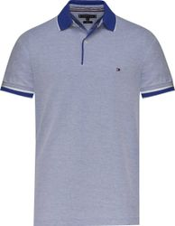 Tommy Hilfiger Oxford regular polo mw0mw09736/436 - licht blauw