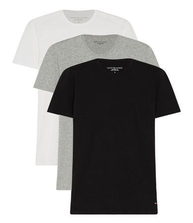 Tommy Hilfiger T-shirts Stretch CN Tee SS 3P Grijs