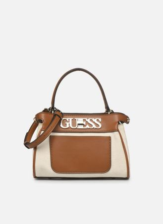 UPTOWN CHIC SML TRNLCK SATCHEL by Guess