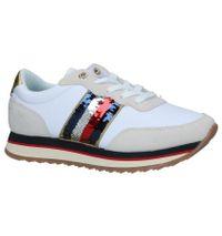 Witte/Ecru Sneakers Tommy Hilfiger