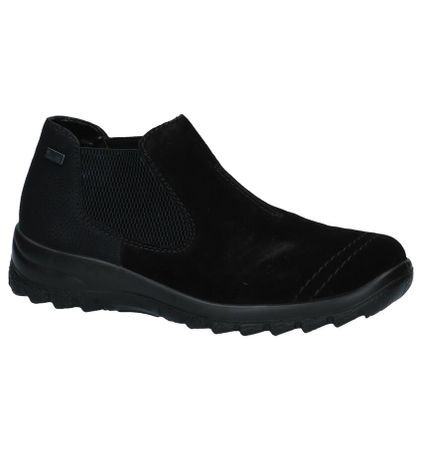 Zwarte Comfortabele Instappers Rieker