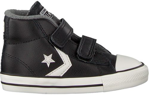 Zwarte Converse Sneakers STAR PLAYER 2V MID
