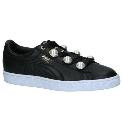 41b5f414be3 Puma Zwarte Sportieve Sneakers Basket Bling - Vergelijk prijzen